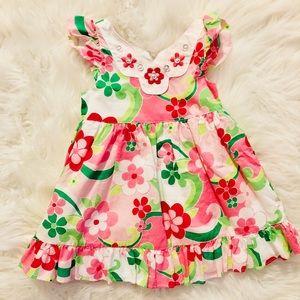 Bright Floral Dress 🎀